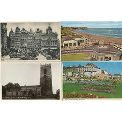 LOT OF 58 ASSORTED POSTCARDS (SCENES OF ENGLAND)