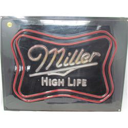LIGHT UP SIGN (MILER) *21x16x5 INCHES*