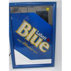 LIGHT UP SIGN (LABATTS BLUE) *13x19x4 INCHES*