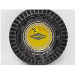 ASHTRAY (GOOD YEAR) *TIRE 6  X 1.5  INCHES*