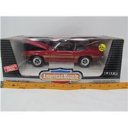 MODEL DIE CAST CAR (1969 SHELBY GT 500) *1:18 SCALE*
