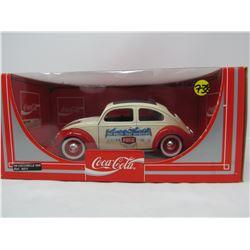 MODEL DIE CAST CAR (1956 COCA-COLA VW BUG) *1:18 SCALE*