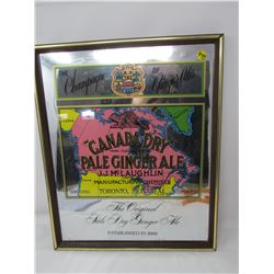 SIGN (CANADIAN PALE GINGER ALE) *16X19 INCHES*