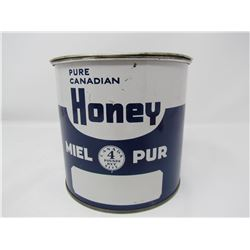 HONEY TIN (PURE CANADIAN) *5X5 INCHES*