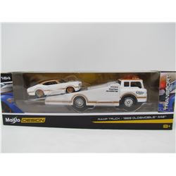 MODEL RAMP TRUCK SET (1969 OLDS 442) *1:64 SCALE*