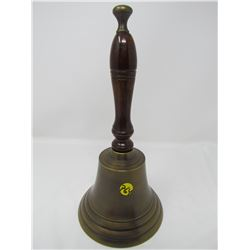 "SCHOOL BELL (METAL) *LARGE 12"" TALL*"