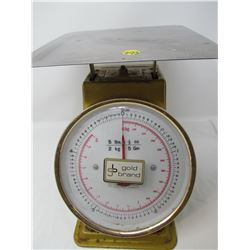 WEIGH SCALE (GOLD BRAND) *5 LB.*