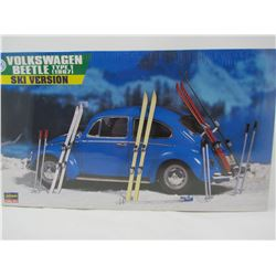 1:24 SCALE MODEL (VOLKSWAGON BEETLE TYPE 1 SKI VERSION) *1967*