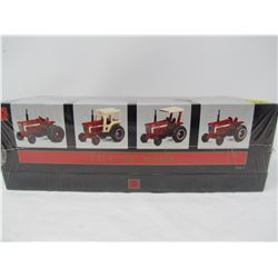 ERTL IHC 66 SERIES TRACTORS (NEW IN BOX SET OF 4)
