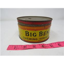 TOBACCO TIN (BIG BEN)