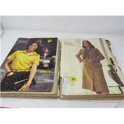 LOT OF 2 SEARS CATALOGUES (SPRING/SUMMER, FALL/WINTER 1980)