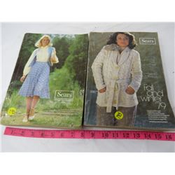 LOT OF 2 SEARS CATALOGUES (SPRING/SUMMER, FALL/WINTER 1979)