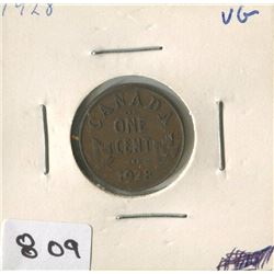 1928 CNDN ONE CENT PC