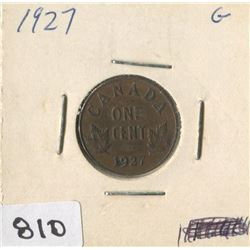 1927 CNDN ONE CENT PC