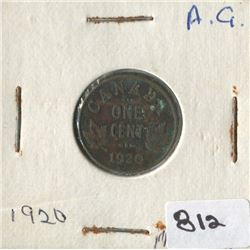 1920 LINCOLN WHEAT PENNY