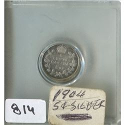 1904 CNDN 5 CENT PC (SILVER)
