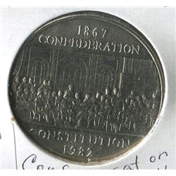 1982 CNDN DOLLAR COIN (CONFEDERATIONS CONSTITUTION)
