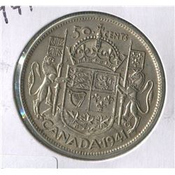 1941 CNDN 50 CENT PC (SILVER)