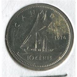 1976 CNDN 10 CENT PC (SILVER)