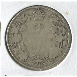 1917 CNDN 50 CENT PC (SILVER)