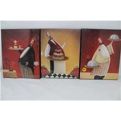 3 PICTURES (ART BELLISSIMO PLAT DU JOUR)