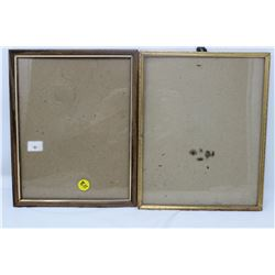 PICTURE FRAMES (QTY 2)