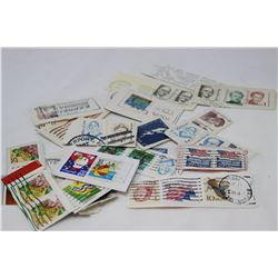SMALL BAG OF ASSORTED STAMPS