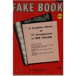 MUSIC BOOK (FAKE BOOK) *117 ARRANGEMENTS IN ONE VOLUME*