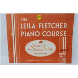 MUSIC BOOK (LEILA FLETCHER PIANO COURSE) *BOOK 1