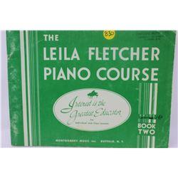 MUSIC BOOK (LEILA FLETCHER PIANO COURSE) *BOOK 2