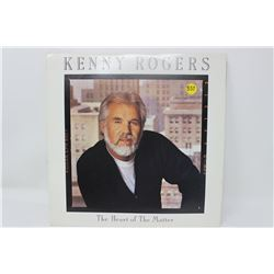 LP RECORD (KENNY ROGERS) 'THE HEART OF THE MATTER'