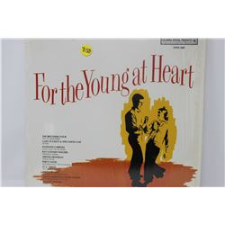 LP RECORD (ASSORTED ARTISTS) 'FOR THE YOUNG AT HEART'