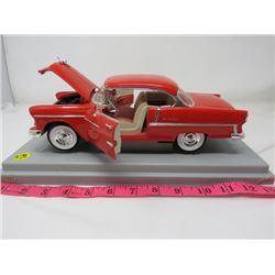 1955 CHEVY BELLAIRE (DIE CAST METAL) *NO BOX  1 1/18*