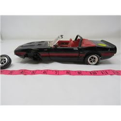 1970 GT FORD 500 (DIE CAST METAL) *NO BOX  1 1/18*  (FRONT LEFT WHEEL IS NOT ATTACHED)