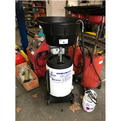 SAMSON PRESSURIZED MOBILE OIL DRAINER
