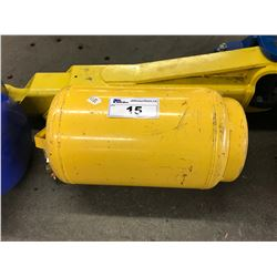 YELLOW PORTABLE AIR TANK