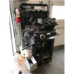 HUNTER BL505 PRECISION BRAKE LATHE WITH TOOLING