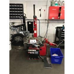 HUNTER TCX 575 TIRE CHANGER WITH TOOLING AND PARTS