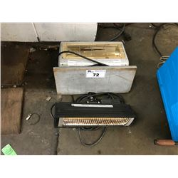 LOT OF ASSORTED HEATERS