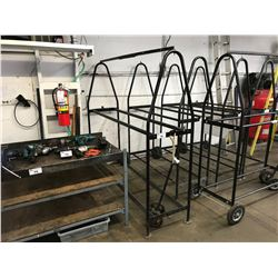 APPROX. 6' MOBILE TIRE STAND WITH PULLER