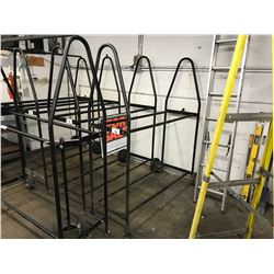 APPROX. 5' MOBILE TIRE STAND
