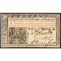 JOHN HART Signer of The Declaration of Independence 1776 Revolutionary War Note