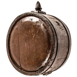 c. 1775-1780s Revolutionary War Era Impressive Large Size Soldiers Camp Canteen