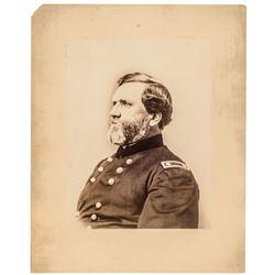 Union Civil War General George Rock of Chickamauga Thomas Huge Albumen Photo!