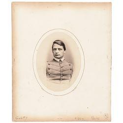 1865 Mathew Brady Card Mounted Albumen Photograph West Point US Military Academy