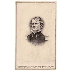 1862 Confederate General Leonidas Polk CDV Photo by Anthony from Brady Negative