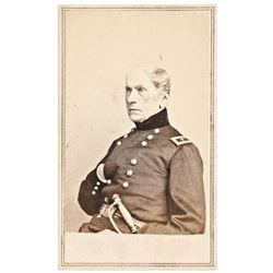 c. 1862 CDV of Civil War Union General JOHN WOOL Brady Image by Anthony