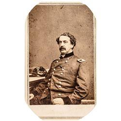 Union General Abner Doubleday by Brady Civil War Carte de Visite Photograph !
