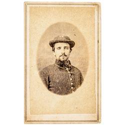 Civil War SUBSTITUTE Union Soldier CDV Nashville, TN. Photographers Imprint