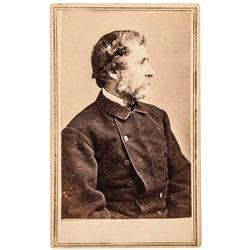 c 1864 Scarce Presidential Candidate John C Fremont Brady/Anthony CDV Photograph